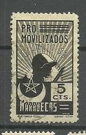 Viñeta Nº 1 Pro Movilizados Marruecos. - Viñetas De La Guerra Civil