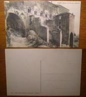 Viterbo Palazzo Dei Papi Lato Posteriore '890 - '900 Non Viaggiata Giacomini Ed. - Viterbo