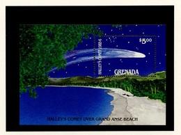 Grenade - Grenada Bloc Feuillet 1986 Y&T N°BF148 - Michel N°B156 *** - Comète De Halley - Grenade (1974-...)