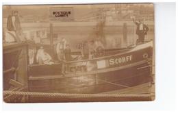 Bateau Cpa Carte Photo Photographie Scorff équipage Bateau De Commerce - Koopvaardij