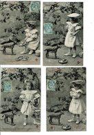 CPA-Lot De 6 Cartes Postales-France-La Revanche Du Petit Chaperon Rouge -1905- VM12969 - Szenen & Landschaften