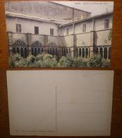 Viterbo Chiostro Di Santa Maria Della Verità  '900 Non Viaggiata Giacomini Ed. - Viterbo