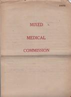 Cartella Caso Medico - Prigionieri Di Guerra - Documenti Storici