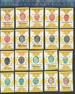 GERRIT SCHULTE - ABONNÉ  - DE KLOOF - BERGEN OP ZOOM Dutch Matchbox Labels - Luciferdozen - Etiketten