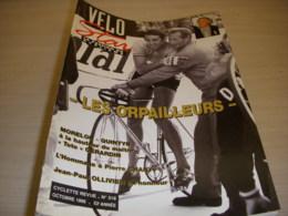 CYCLISME VELO STAR 318 10.1996 La PISTE MORELON QUINTYN HOMMAGE à PIERRE CHANY - Sport