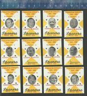GERRIT SCHULTE - SPANERA  - DE KLOOF - BERGEN OP ZOOM Dutch Matchbox Labels - Boites D'allumettes - Etiquettes