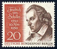 190 Friedrich Von Schiller ** - Non Classificati
