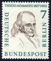 163 Männer Der Geschichte 7 Pf Theodor Mommsen ** - Unclassified