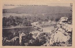 Yvoir Sur Meuse, La Meuse, Le Pont Et Les Rochers De Champale (pk66962) - Yvoir