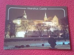 POSTAL POST CARD NORUEGA NORGE NORWAY OSLO AKERSHUS FESTNING OG SLOTT FORTRESS AND CASTLE CASTILLO CHATEAU....VER FOTO/S - Noruega
