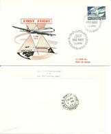 Norway 1969 SAS First Flight Scandinavia - West Indies, Cancelled 1.11.69 - Brieven En Documenten