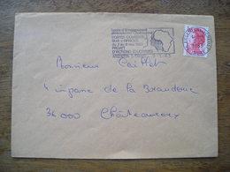 Indre 1983 Argenton Sur Creuse, Portes Ouvertes Sur L'Afrique - Marcophilie (Lettres)