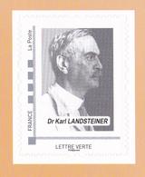 FRANCE 2019 Collector Medicine Ffdsb Blood Sang Donation Karl Landsteiner Systeme ABO MNH** Luxe - Medicine