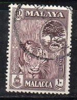 XP4620 - MALACCA MALAYSIA 1960 , 10 Cent Usato  (2380A) - Malacca