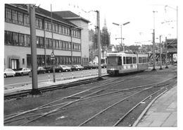 Oostende Station Ostende Gare Tram 1990 Photo 12,5x9 - Trains