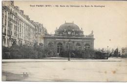CPA PARIS XVI ème Arrondt Tout Paris Gare De L'Avenue Du Bois De Boulogne N°92 - Arrondissement: 16