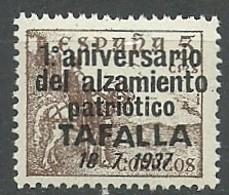 Emision Local Patriotica Particular. Tafalla 1938. - España