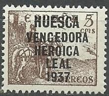 Emision Local Patriotica Particular. Huesca 1937 - España