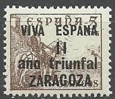 Emision Local Patriotica Particular. Zaragoza 1937 - España