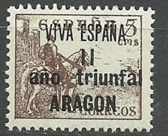 Emision Local Patriotica Particular. Aragon 1937 - España