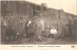 Dépt 42 - ROANNE - Prisonniers Et Blessés à Roanne - (voyagée En Octobre 1914) - ELD - Train - Roanne