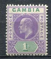 Gambia Mi# 50 Postfrisch MNH - King Edward VII - Gambia (...-1964)