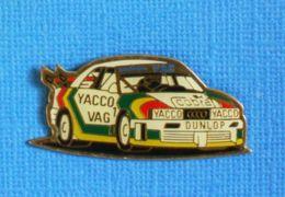 1 PIN'S //  ** AUDI DTM / VAG / YACCO / COBRA / DUNLOP ** - Audi