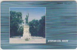 #13 - MOLDOVA-02 - STEFAN CEL MARE - STATUE - 01/00 - 150.000EX. - Moldova