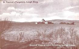 St Patrick's Purgatory, Lough Derg - General View Of Lake, Including Station Island (1952) - Donegal