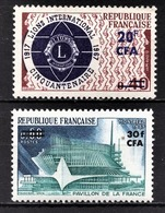 REUNION - Y.T. N° 375 ET 376  - NEUFS** - Réunion (1852-1975)