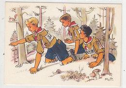 Auf Zum Nummernspiel... - Sign. Mutti - Herausgeber: Schweiz.Pfadfinderbund    (A-181-191001) - Pfadfinder-Bewegung