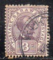 XP4501 - SARAWAK MALAYSIA 1918, Yvert N. 52  Usato  (2380A) - Sarawak (...-1963)