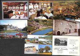 Luxembourg - Lot 8 Cartes (Hôtel Leonardy Vianden, Camping, Usines,...belle Sélection & Petit Prix) - Cartes Postales