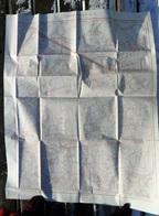 ZEER GROTE STAFKAART Nr. 13/2 MOERKERKE 1/10.000 Sit. In 1910 SIJSELE VIJVE KAPELLE SCHEWEGE MALE VELDHOEK DAMME S283 - Damme