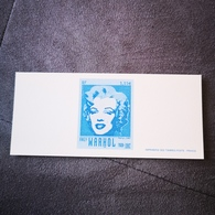 FRANCE FDC GRAVURE épreuve 1er Jour ANDY WARHOL MARILYN MONROE 2003 - Collection Timbre Poste - FDC