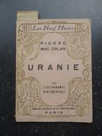 PIERRE MAC ORLAN (M1417) URANIE (8 Vues) Emile Hazan Edition Original De 1929 Sur Papier Vergé Bouffant N°1879 - 1901-1940