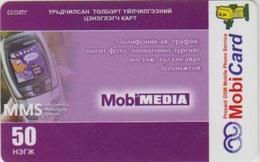 #13 - MONGOLIA-05 - PREPAID - TELEPHONE - 50 UNITS - Mongolia