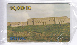 KURDISTAN(NORTH IRAQ) - Castle Palace, Motac Prepaid Card 10000 ID, Exp.date 31/12/06, Mint - Other – Asia