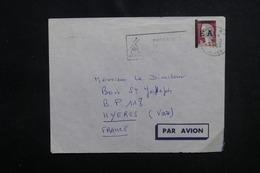 ALGÉRIE - Type Decaris Surchargé EA Sur Enveloppe De Alger En 1962 Pour La France - L 53538 - Algérie (1962-...)