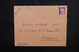 ALGÉRIE - Type Decaris Surchargé EA Sur Enveloppe De Setif En 1962 Pour La France - L 53540 - Algérie (1962-...)