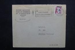ALGÉRIE - Type Decaris Surchargé EA Sur Enveloppe De Tlemcen En 1962 Pour La France - L 53541 - Algérie (1962-...)