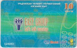 #13 - MONGOLIA-07 - PREPAID - TELEPHONE - 10 UNITS - Mongolei
