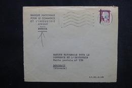 ALGÉRIE - Type Decaris Surchargé EA Sur Enveloppe De Bougie En 1962 Pour La France - L 53548 - Algérie (1962-...)