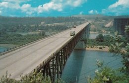 Pennsylvania Turnpike Highway ,looking West Along The Allegheny River Bridge - Other