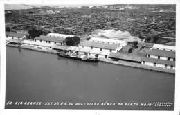 Rio Grande - Est. Do R.G. Do Sul - Vista Aéra Do Porto Novo (Foto Colombo 1963) - Porto Alegre
