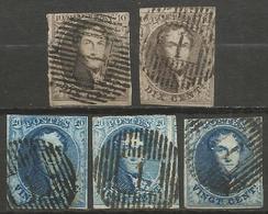 Belgique - Médaillons - Oblitérations D1 NAMECHE - Postmarks - Lines: Distributions