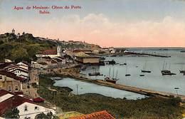 Brazil - Agua De Meninos - Obras Do Porto - Bahia (1929, Litho Typ Joaquim Ribeiro) - Salvador De Bahia