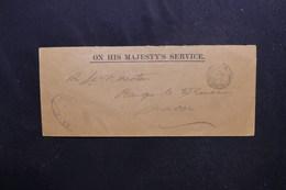FRANCE - Enveloppe En FM ( Armée Anglaise ) Pour La Banque De France De Macon En 1915 - L 53556 - Poststempel (Briefe)