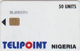 #13 - NIGERIA-01 - TELIPOINT - 50 UNITS - SCRATCHED - Nigeria