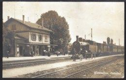 Wallisellen - Bahnhof - La Gare - Train à Vapeur - Dampflok - 1926 - ZH Zurich